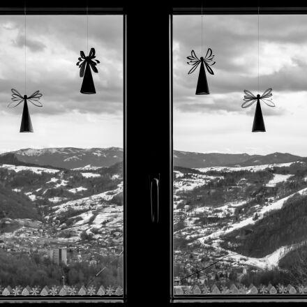 angel, window, decoration, Fujifilm X-T1