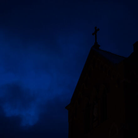 dark, ominous, sky, Canon EOS 5D MARK II