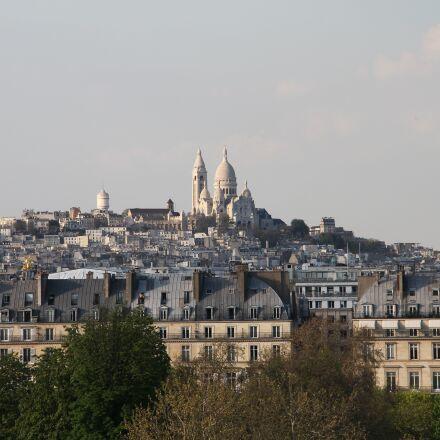 paris, sacred heart, basilica, Canon EOS 1100D