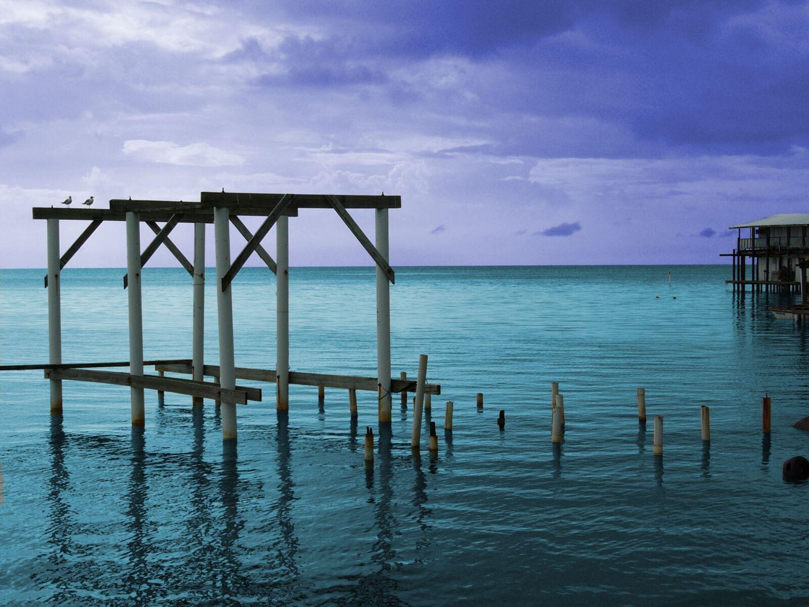 water, sea, pier