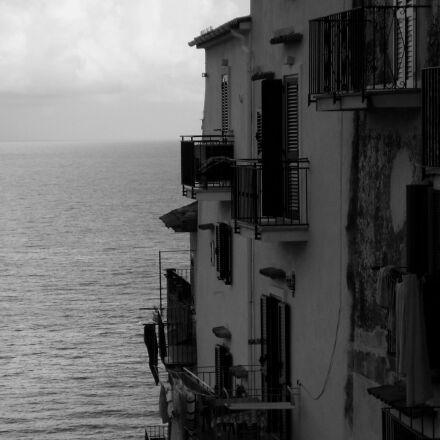 sea, italy, the mediterranean, Sony DSC-S730