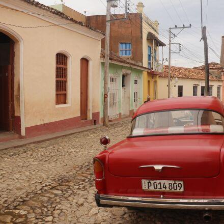 cuba, trinidad, pavement, Canon EOS 700D