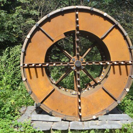 wheel, art, artwork, Sony DSC-TX5