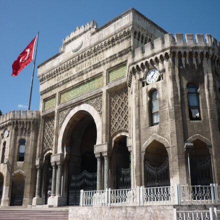 turkey, istanbul, university, Panasonic DMC-FS62