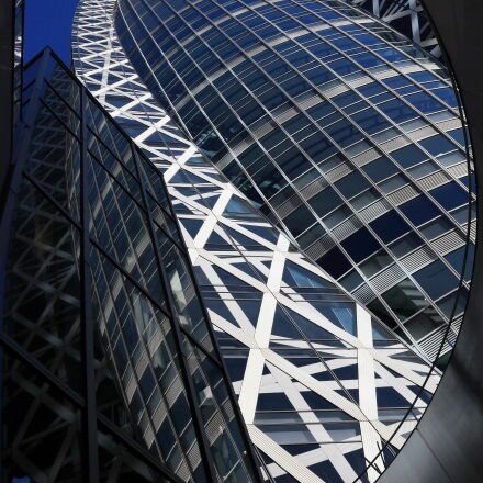 architecture, blue, building, cocoon, Canon EOS 5D MARK II