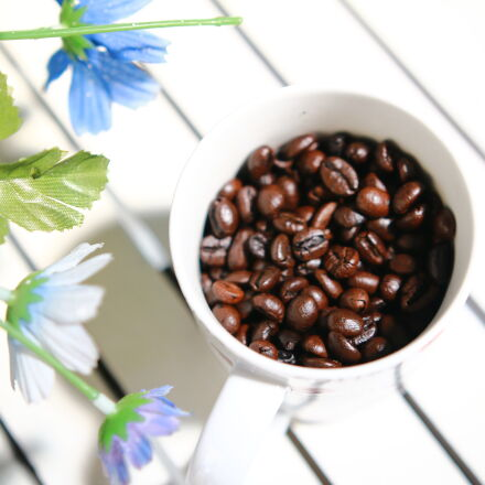 coffee, cup, Canon EOS 70D