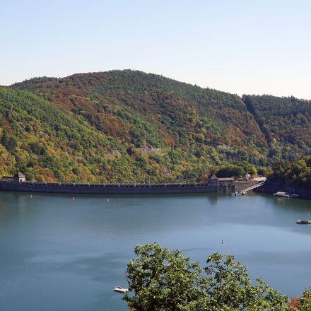 lake, edersee, reservoir, Sony ILCE-7