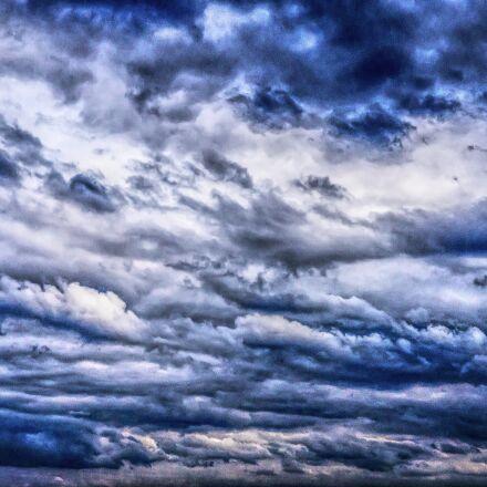 dramatic, clouds, drama, Sony ILCE-6300