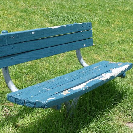 bench, old, weathered, Panasonic DMC-FZ60