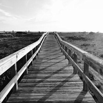 boardwalk, walkway, path, Sony DSC-HX1
