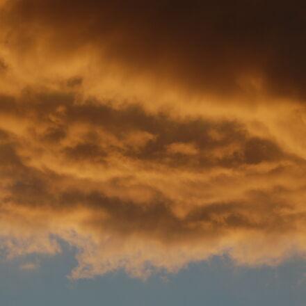 cloud, sky, sunset, Nikon D50