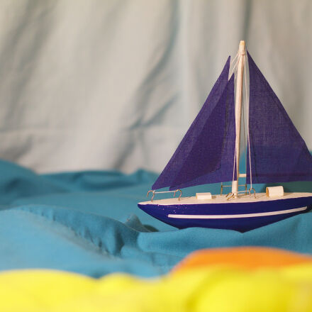 blue, boat, dream, holidays, Canon EOS 1100D