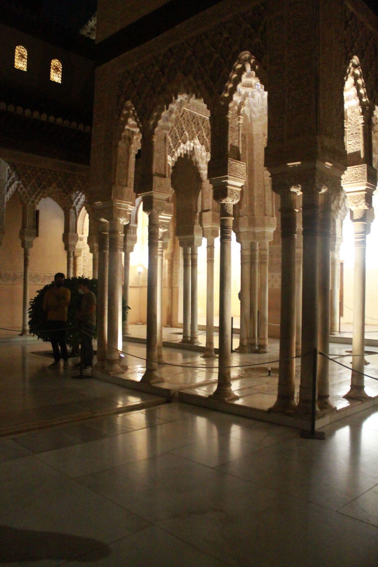 "Canon EOS 1100D (EOS Rebel T3 / EOS Kiss X50) sample photo. ""Night, alhambra, granada"" photography"