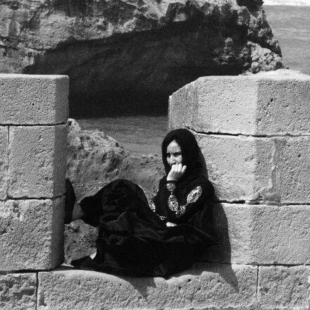 morocco, woman, coast, Panasonic DMC-FS35