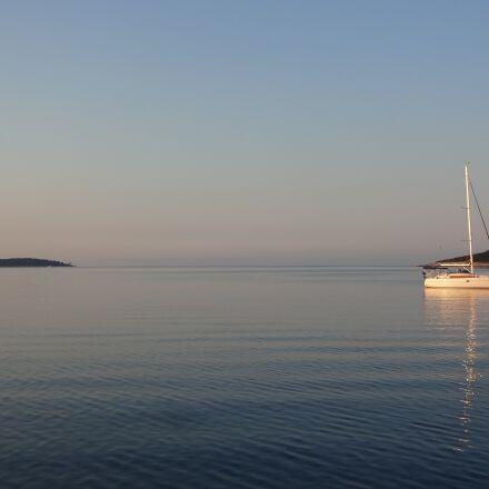 croatia, sailing boat, water, Sony DSC-WX100