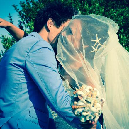 bride, bride, and, groom, Nikon D7100