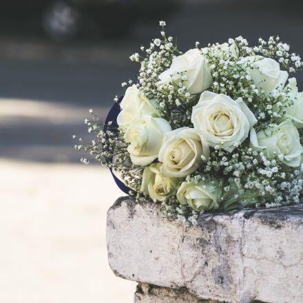 flowers, wedding, white, Canon EOS 7D MARK II