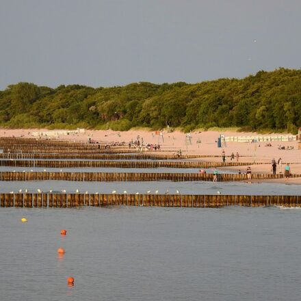 the baltic sea, beach, Nikon COOLPIX P900