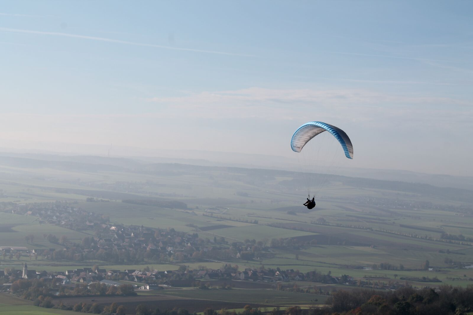 "Canon EOS 1100D (EOS Rebel T3 / EOS Kiss X50) sample photo. ""Skydiving, parachute, mountains"" photography"