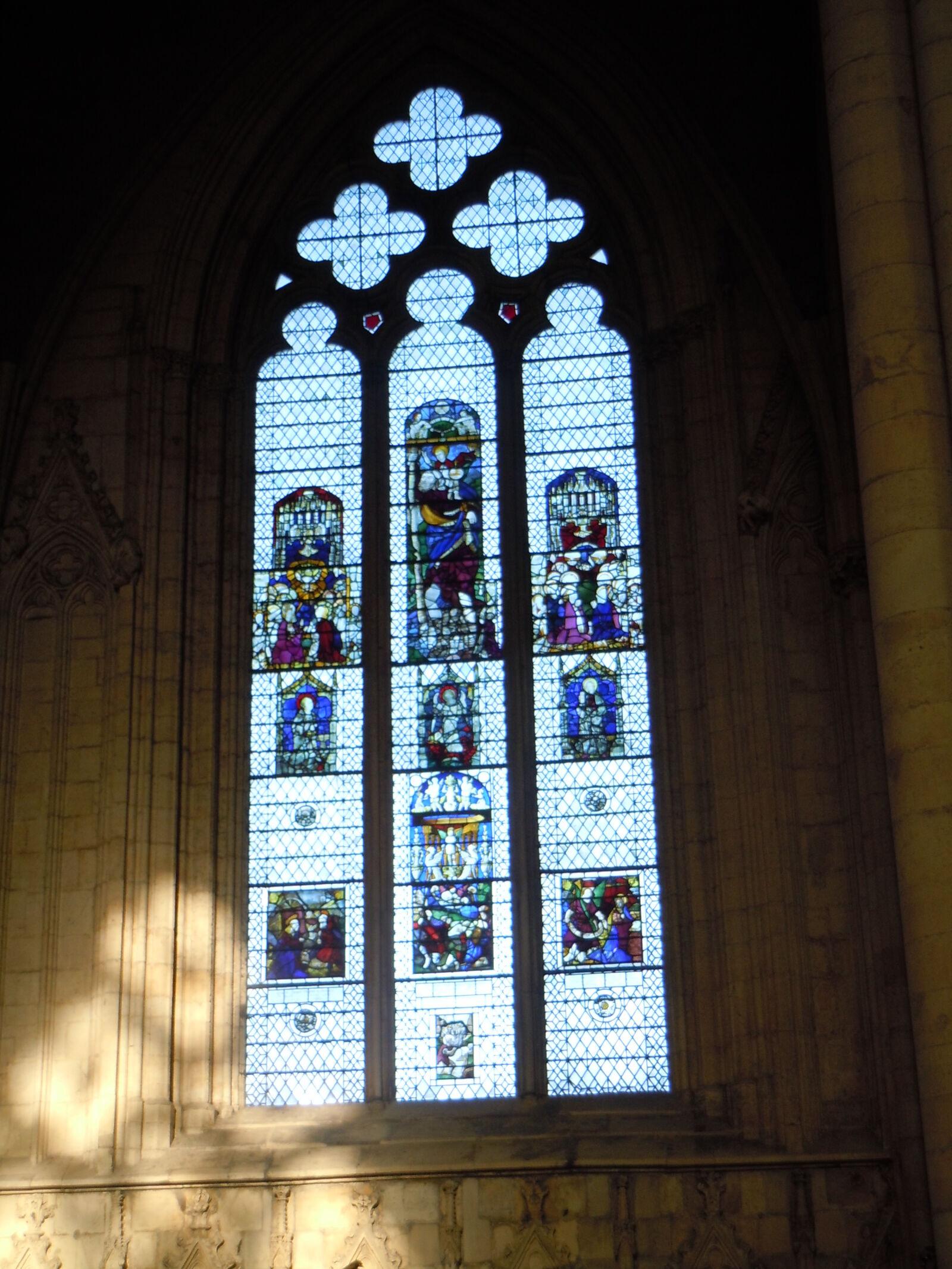 "Nikon Coolpix S8000 sample photo. ""Arched, window, church, church"" photography"