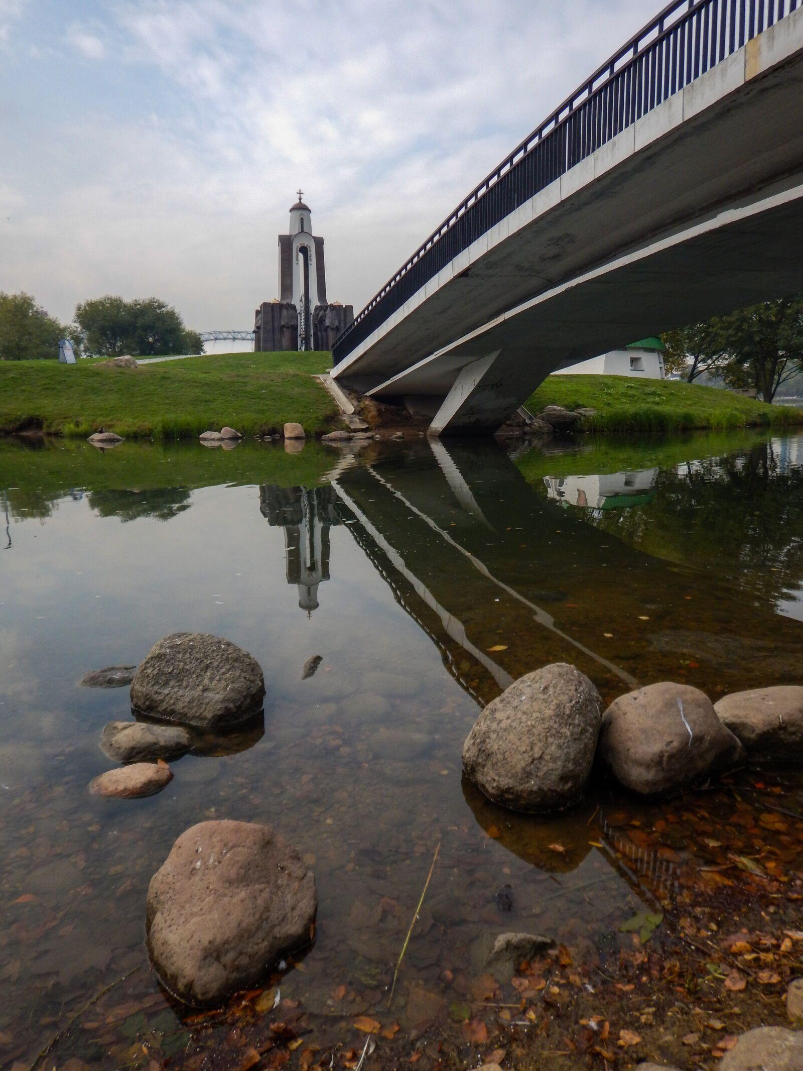 "Nikon Coolpix AW120 sample photo. ""Bridge, minsk, belarus"" photography"