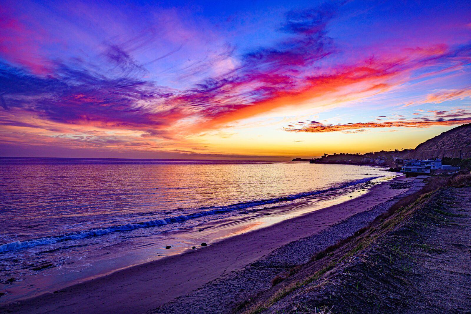 "Nikon Z 7 sample photo. ""Sunset, ocean, pacific"" photography"