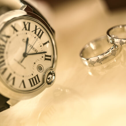 silver, wedding, rings, near, Canon EOS 5D MARK III