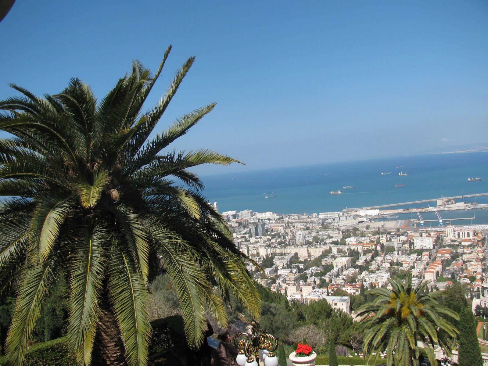 "Canon PowerShot SX110 IS sample photo. ""Palma, city, sea"" photography"