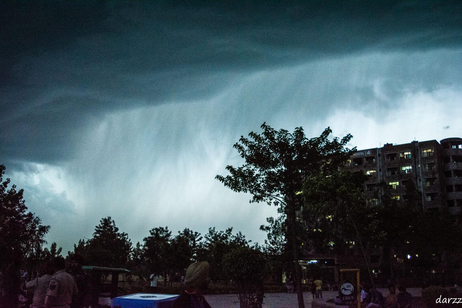 "Nikon D5200 sample photo. ""Dark, clouds, dark, sky"" photography"