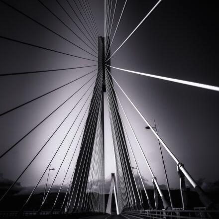 rio-antirrio bridge, suspension bridge, Fujifilm X-E1