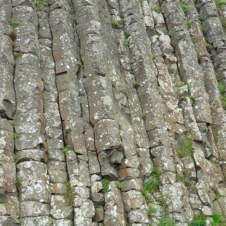 basalt, causeway, columns, Panasonic DMC-FS3