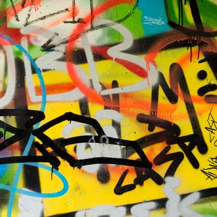 grafitti, wall, colorful, Canon EOS 700D
