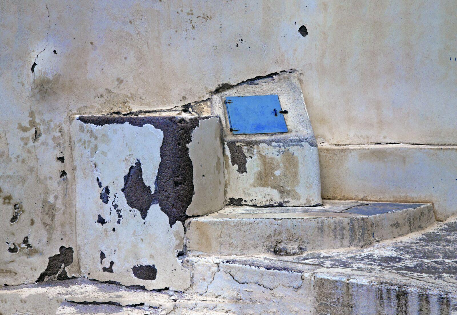 "Canon EOS 1100D (EOS Rebel T3 / EOS Kiss X50) sample photo. ""Santorini, cistern, ruins"" photography"