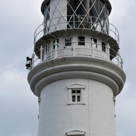 lighthouse, beacon, ocean, Canon EOS 7D MARK II
