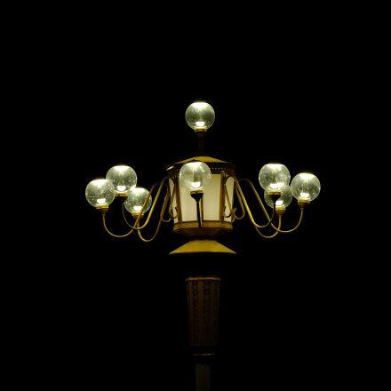 lamp, the dark night, Fujifilm X-E2S
