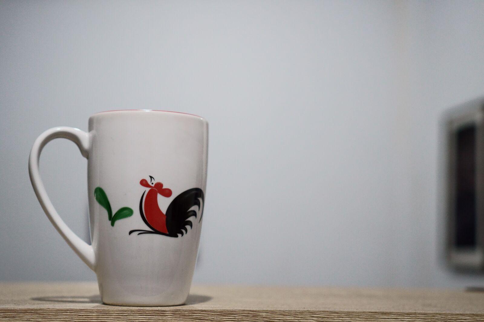 "Sony a6400 sample photo. ""Mug, glass, tea"" photography"