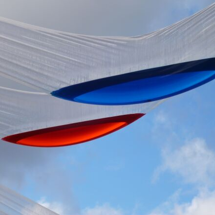 clouds, art, blue, Panasonic DMC-FS16