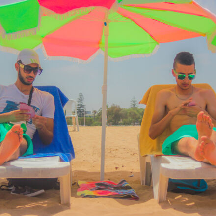 beach, vacation, leisure, summer, Canon EOS 550D