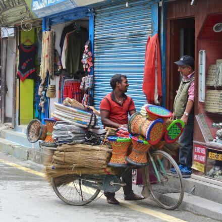 kathmandu, nepal, street vendor, Nikon 1 J1