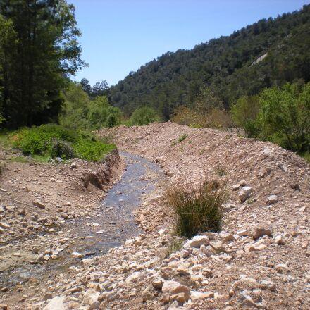 river, mediterranean, ecology, Nikon COOLPIX S210