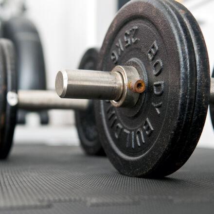 bodybuilding, dumbbells, iron, metal, Nikon D300S
