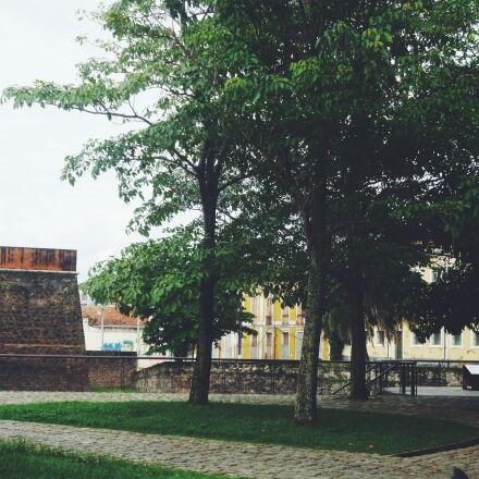 belem, brasil, castelo, forte, Panasonic DMC-FH2