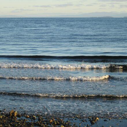 beach, ocean, waves, Canon POWERSHOT ELPH 100 HS