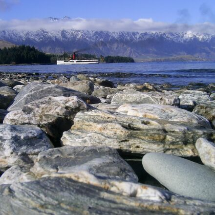 queenstown, lake wakatipu, lake, Samsung Digimax A402