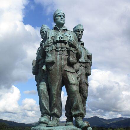 commando, scotland, memorial, Canon IXUS 155