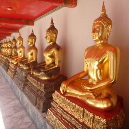 buddha, floor, temple, Panasonic DMC-FS16