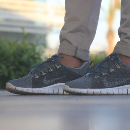 grey, nike, shoes, Canon EOS 550D