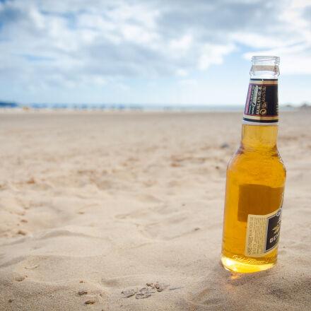 beach, beer, canaries, canary, Nikon D7000