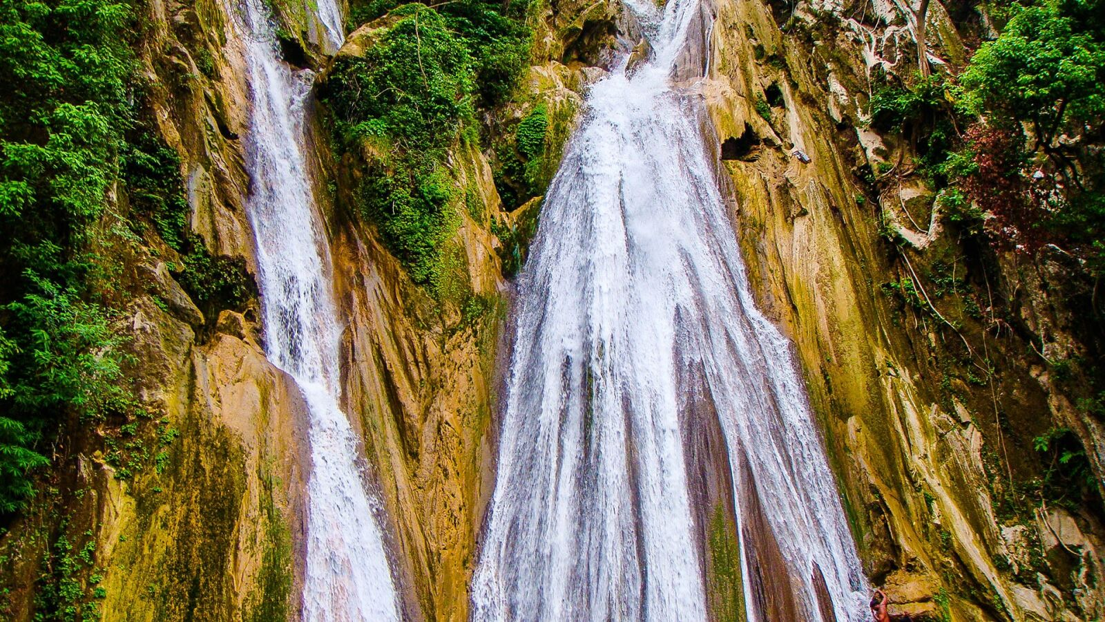 """Sony DSC-T300 sample photo. """"Waterfall, mussorie, nature"""" photography"""