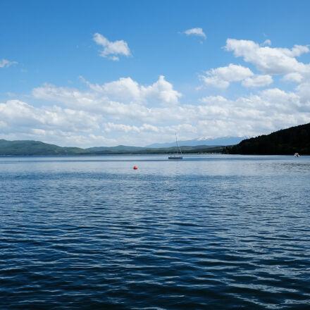 landscape, clouds, weather, lake, Fujifilm X-Pro1
